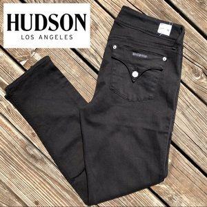 Hudson Jeans Black Skinny Collin • 32